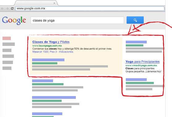 como aparezco en google con adwords