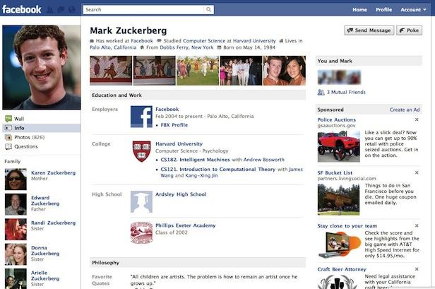 facebook historia vleeko