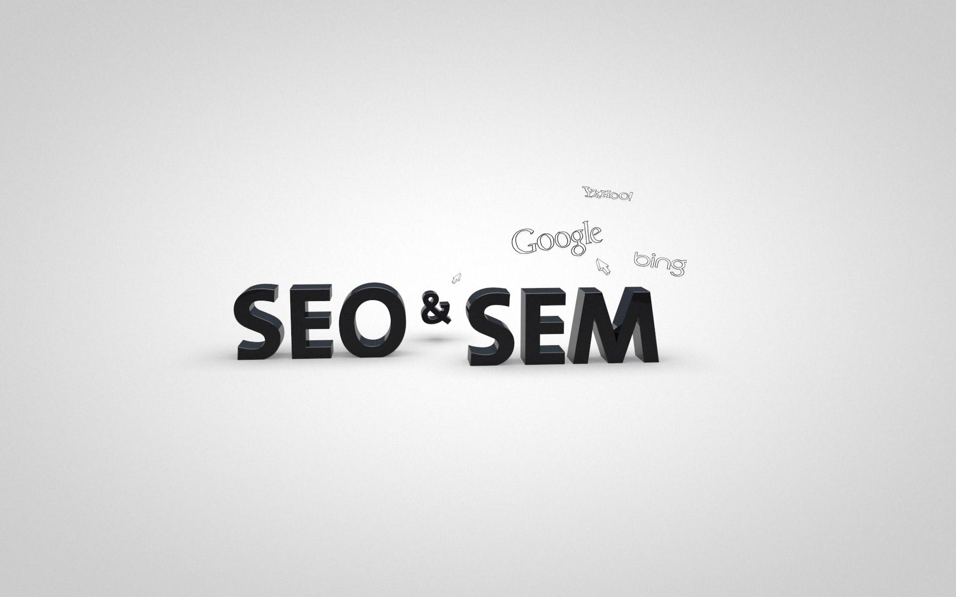 Comparación entre SEO y SEM (Infografía)