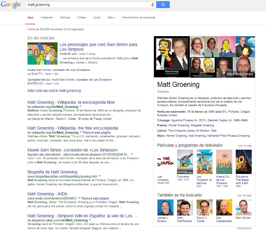 El Knowledge Graph de Google