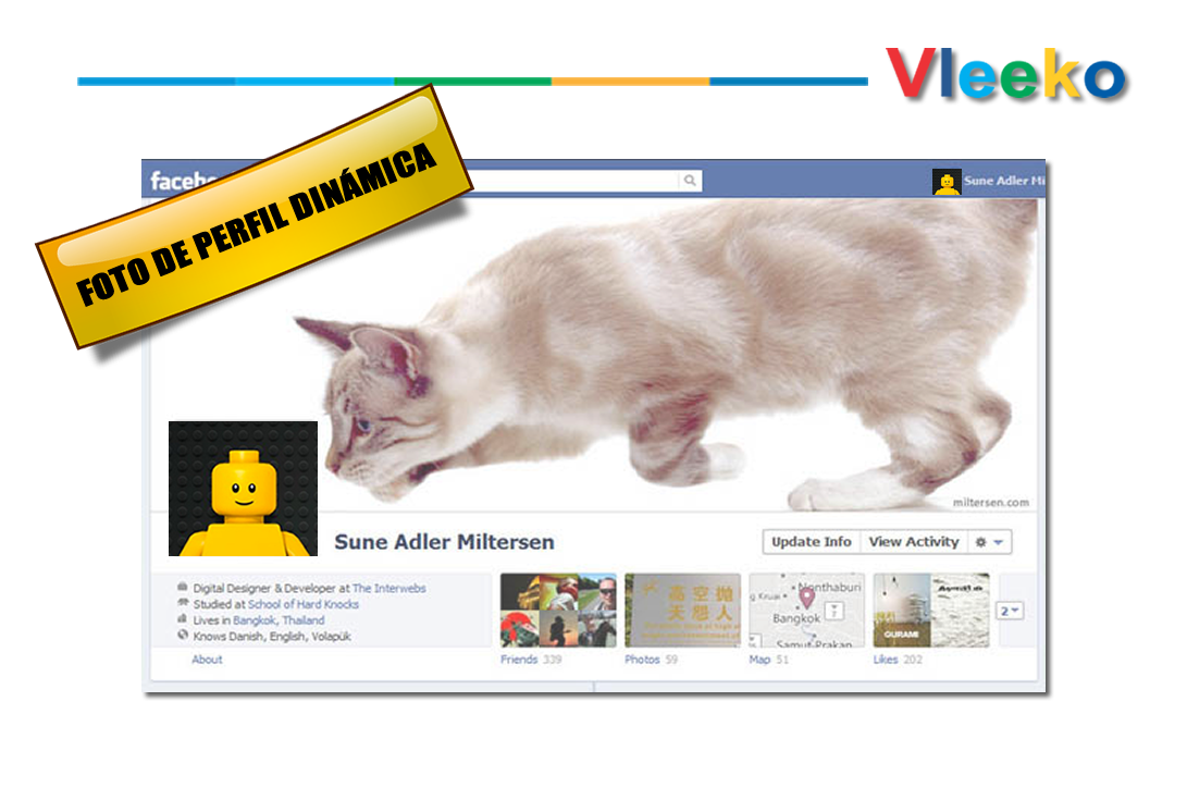 Facebook: Las fotos de perfil ahora tendrán movimiento.
