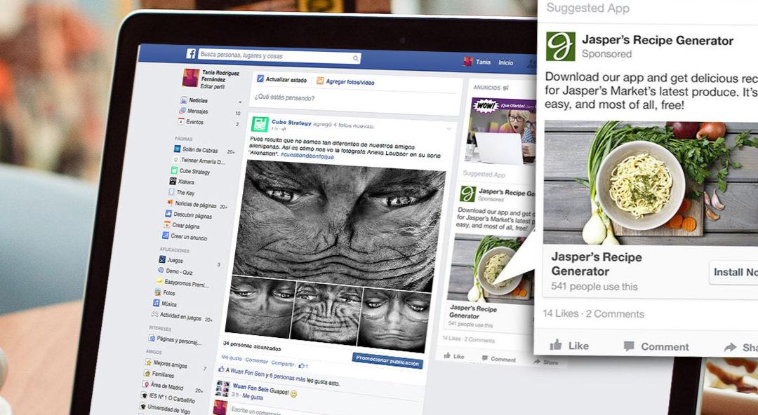 Publicidad de Facebook en México