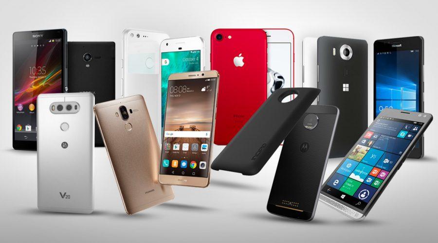 Los equipos Smartphones más vendidos este 2017