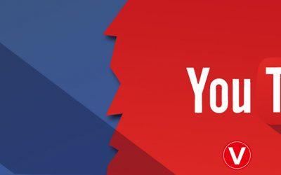 ¿Facebook menos popular que YouTube?, esto qué significa en el marketing