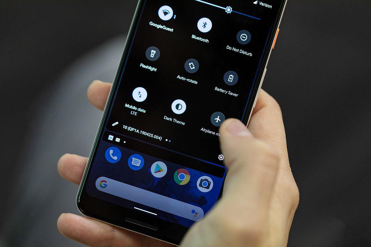 Vleeko Android Modo oscuro funciona nativa